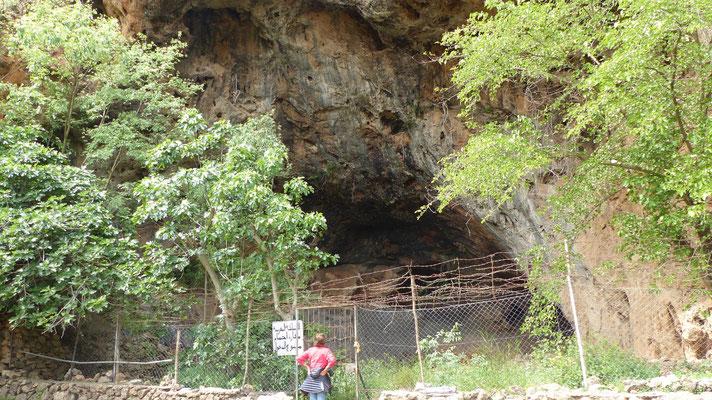 Extérieur de la Grotte des pigeons