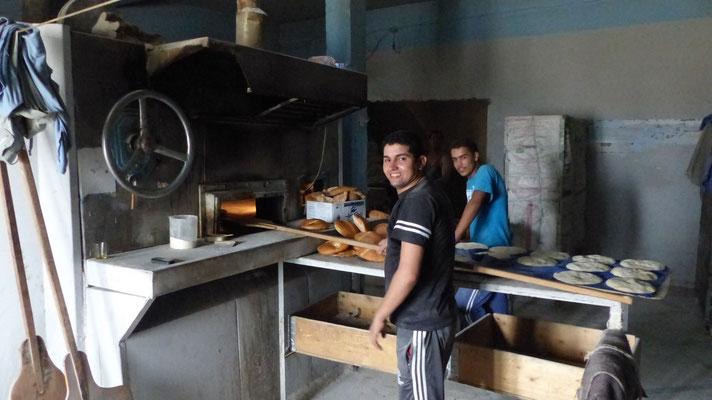 Four à pain à feu de bois