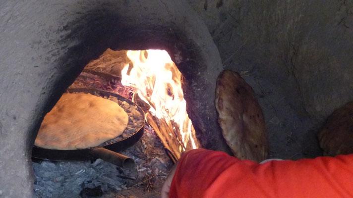 Le pain gonfle très vite