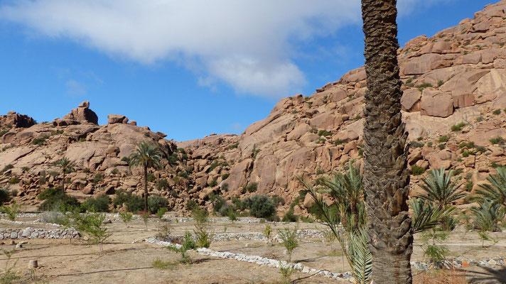 Quelques rochers caractéristiques de Tafraoute