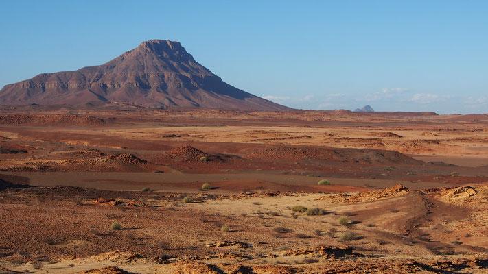 Trek dans le Damaraland entre Ugab et Huab ; Namibie