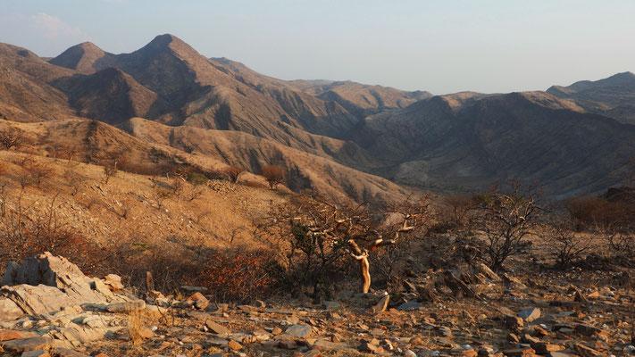Route du col du Van Zyl ; Namibie