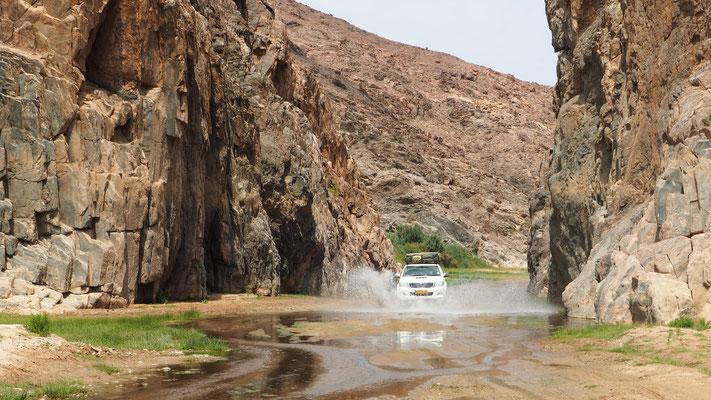 Canyon de la Hoarusib ; Namibie