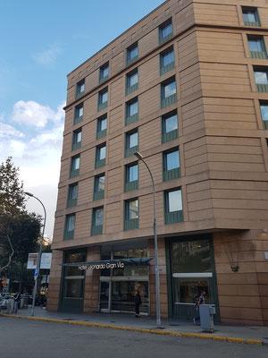 "Die Fassade des Hotels ""Leonardo Gran Via"""