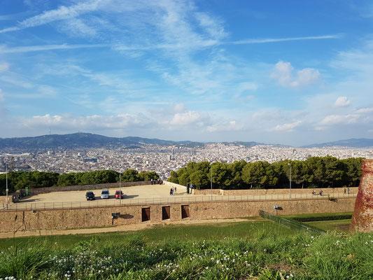 Aussicht vom Montjuíc Teil 1