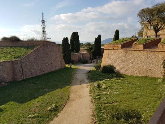 """Das """"Castell de Montjuíc"""""""