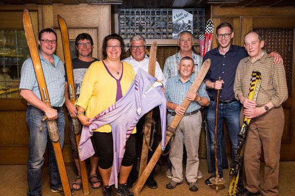 alle anwesenden Präsidenten des Skiclub Muotathals