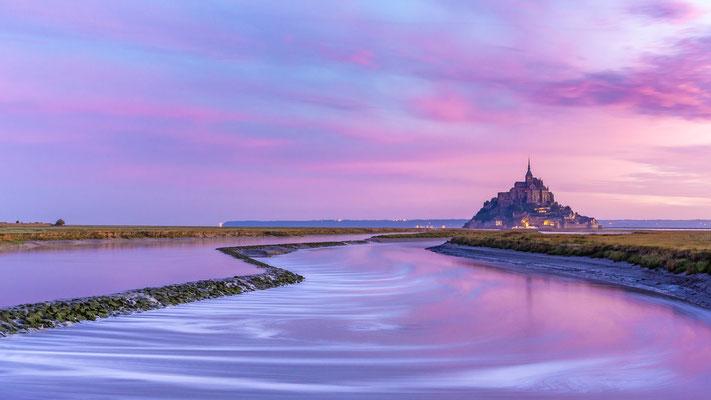 Le Mont-Saint-Michel le matin - ONE [30 mm / f11 / ISO 160 / 30 Sek.]