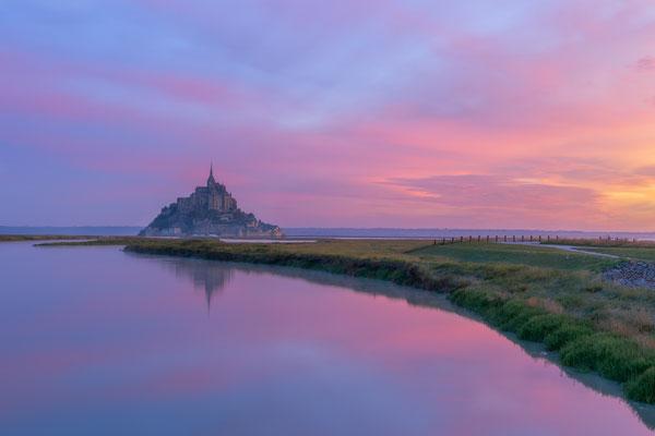 Le Mont-Saint-Michel le matin - TWO [30 mm / f11 / ISO 50 / 3 Sek.]