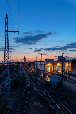 Betriebsbahnhof Rummelsburg - Berlin [26 mm / f8 / ISO 100 / 5 Sek.]