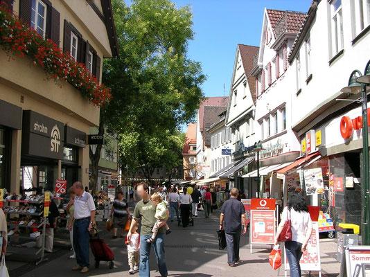 Marktstraße, Altstadt Bad Cannstatt