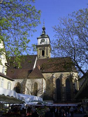 Stadtkirche, Altstadt Bad Cannstatt