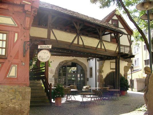 Klösterlescheuer mit Stadtmuseum Bad Cannstatt
