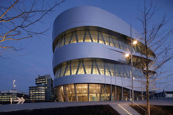 Mercedes-Benz-Museum, Bad Cannstatt