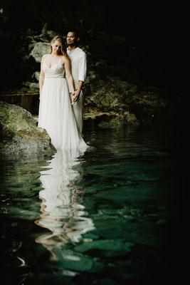 ROVA FineArt artistic Wedding Photography - Hochzeitsfotografie - destination wedding Mexico - jungle