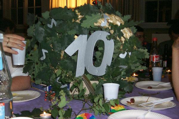 10-Jahre-Jubiläum 09/2001