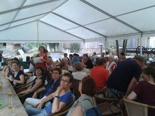 Feier in der Waldschänke 08/2013