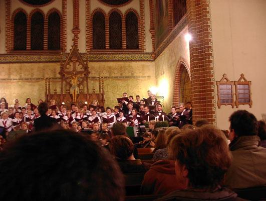 Bornimer Kirche 12/2001