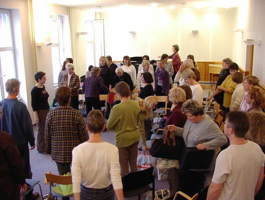 Chorwochenende 11/2004
