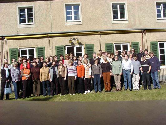 Chorwochenende Dahmshöhe 03/2005
