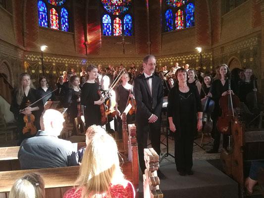 Benefizkonzert Erlöserkirche 06/2018 Jugendsymphonieorchester und Gemischter Chor