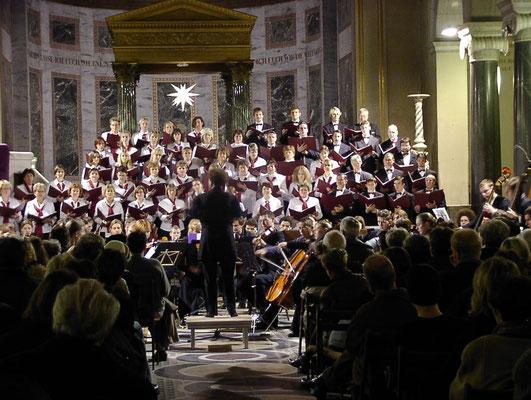 Weihnachtskonzert Friedenskirche 12/2002