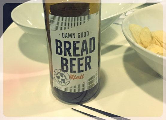 Das Bread Beer gab es anschliessend zur Verkostung.