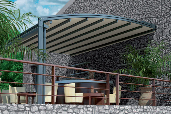 Pergolen Concept Rondo Aquakonzept-Schwimmbadtechnik