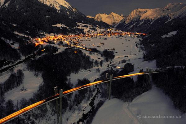 Klosters mit Sunnibergbrücke