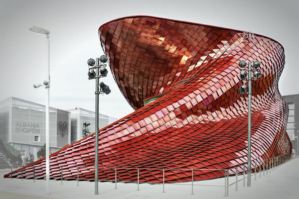 Expo - Vanke Pavillon by Daniel Libeskind