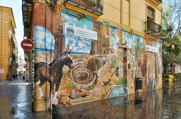 Altstadt - Graffiti