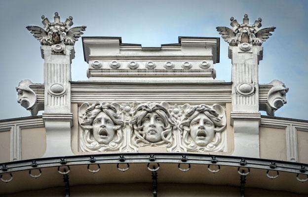 Jugendstilfassade