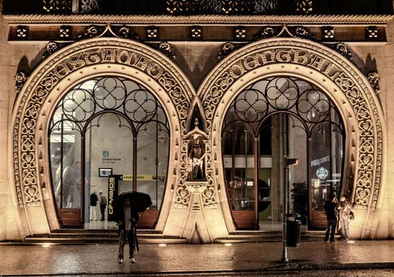 Lissabon @night - Bahnhof Rossio