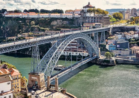 Ponte Dom Luis I.  - vom Bischofspalast aus