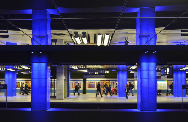 U-Bahnstation Münchener Freiheit