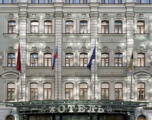 Hotel in Moskau