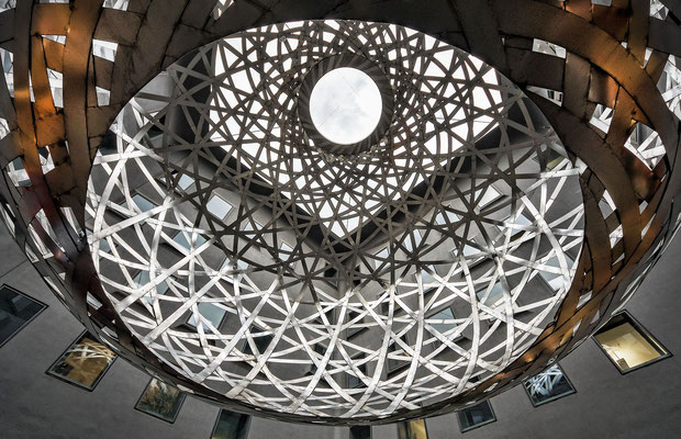 "Fünf Höfe - ""Sphere"" by Olafur Eliasson"