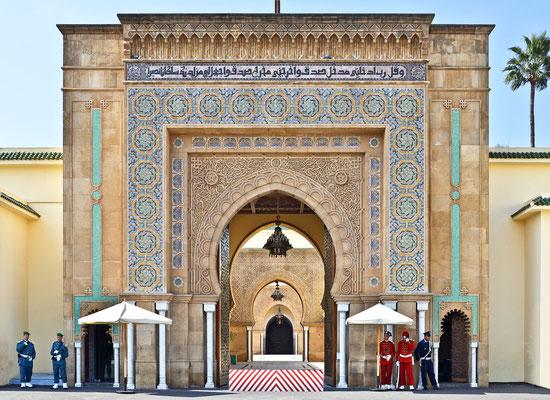 Rabat - Königspalast