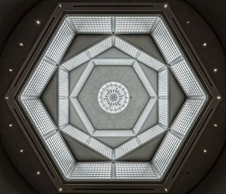 Gemäldegalerie - Blick nach oben