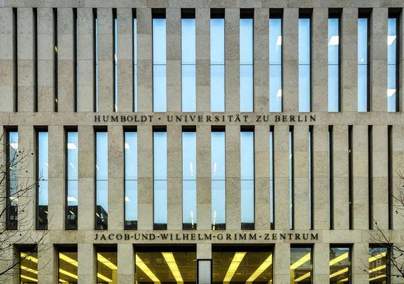 Jakob-und-Wilhelm-Grimm-Zentrum, Bibliothek der Humboldt-Universität