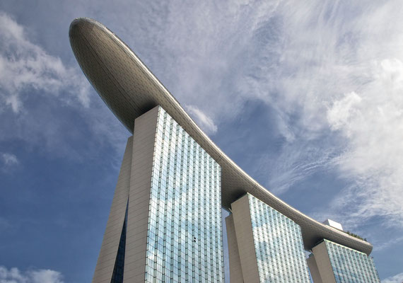 The Marina Bay Sands Hotel