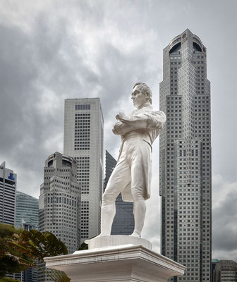 Sir Stamford Raffles - Denkmal
