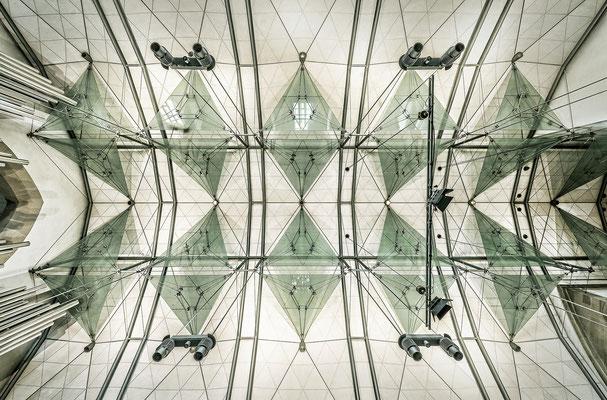 Stiftskirche - Deckenkonstruktion
