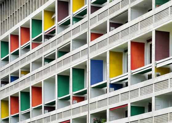Cité Radieuse - Le Corbusier