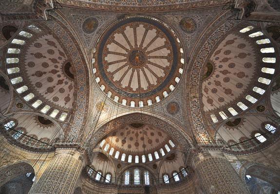 Blaue Moschee - Innenraum