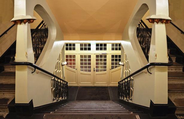 Treppenhaus in den Hackeschen Höfen