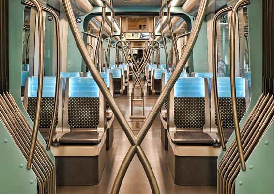 im Straßenbahndepot der LuxTram