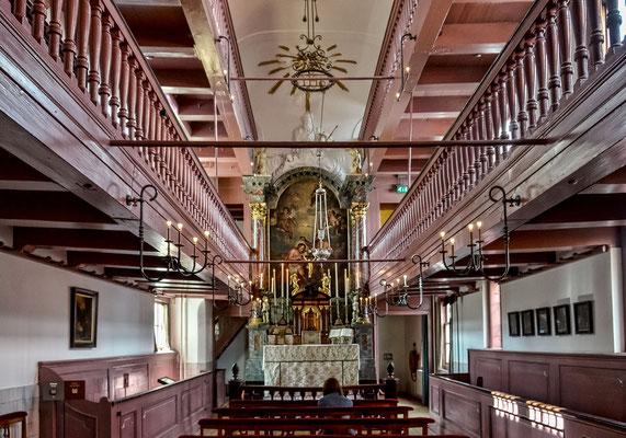 """""""Ons Lieve Heer op Zolder"""" - 3-geschossige Geheimkirche von 1661"""