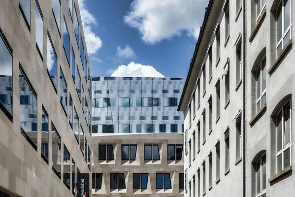 Dorotheenquartier mit Hotel Silber