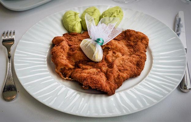 """Wiener Schnitzel im """"Steirereck"""""""